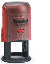Trodat Printy Round 46030 Rubber Custom Self Inking Stamps