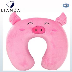 China Animal Style Airplane Travel Pillow / Memory Foam Neck Pillow Light Weight SGS TUV Standard on sale