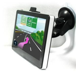 China 128MB Memory 4GB Flash car gps and reverse camera with HD 800*480 touch screen on sale