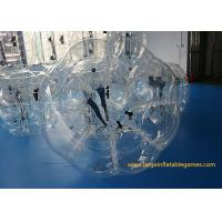 Durable 1.2m TPU inflatable bumper ball for adults , Inflatable Human Bubble For Kids