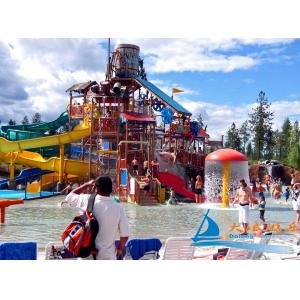 China Outdoor Playing Water Playground Equipment Platform Height 18m for Children, Adults on sale