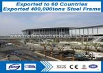 Conventional Steel Frame Structure Formed Big Steel Buildings Anti - Corrosion