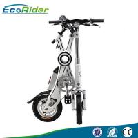 China Estilos eléctricos de la moda de la bicicleta del plegamiento sin cadena del motor de EcoRider 350w on sale
