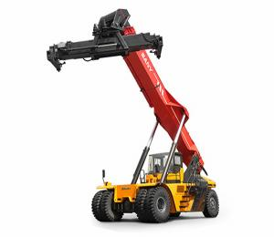 China Hydraulic Lift Containers Reach Stacker Forklift With High Performance on sale