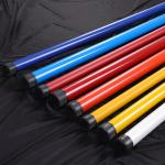 ISO9001 Standard Oval Telescoping Fiberglass Mast 40mm 3K Fire Protection