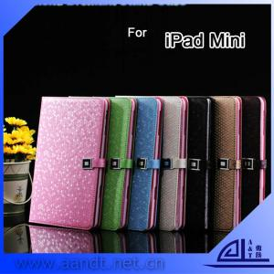 China 2013 NEW Diamond Dormant For iPad Mini Case Leather on sale
