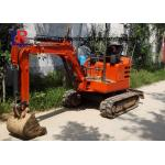 China 1800kgs Walk Behind Mini Excavator with Cabin / Full Hydraulic Digging Machine wholesale