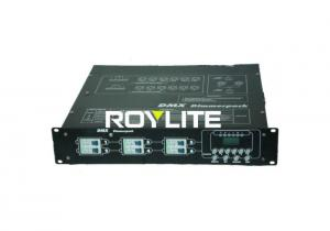 China 6 Channels DMX digital Dimmer Pack For Stage Lighting , Sockets customized on sale