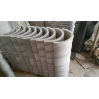 Marble Columns Guangxi White Marble Doric Columns China Carrara White Marble Pillars