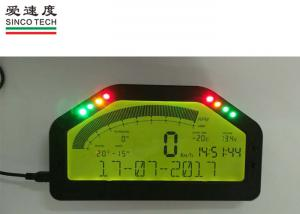 China BT Connection Race Car Dashboard DO904 Full Sensor Kit LCD display panel on sale