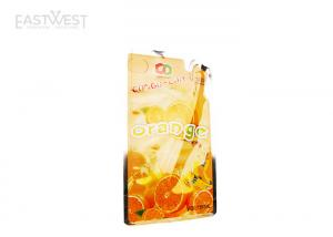 China Straw Barrier Laminated Packaging Bags Air Proof Customized Printing For Beverage on sale