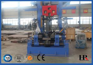 China Efficient H-beam Combination Work Station Production Line For Straightener And Cutter on sale