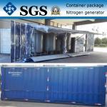 Tipo gerador do recipiente do nitrogênio da PSA para a indústria marinha e o petroleiro de óleo