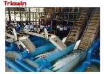 1000 Tons / Day Pineapple Processing Line , Fruit Processing Plant Canned
