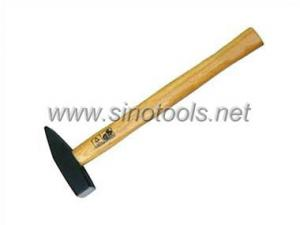 China German Type Machinist's Hammer with Wooden Handle on sale