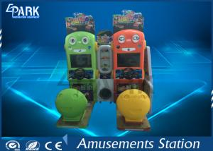 China Kids coin operated English version car simulator game machine on sale