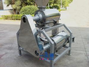 China Stainless Steel Mango Destoner Machine Working Steadily Peach Peeling Machine on sale