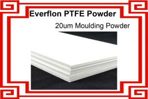 China PTFE Resin / PTFE Molding Powder / 20-40um size / Moulding Processing on sale