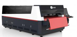 China Digital Fabric T- Shirt Printing Machine With CISS Ink Supply Mode System on sale