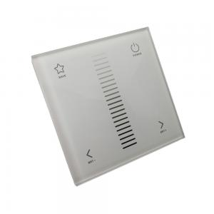 China AC100-240V Wall Mount LED Controller Touchable Screen Led Strip Dimmer on sale