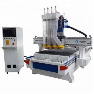 China Customized Woodworking CNC Machine 1325 ATC Cnc Router Machines Vacuum Table on sale