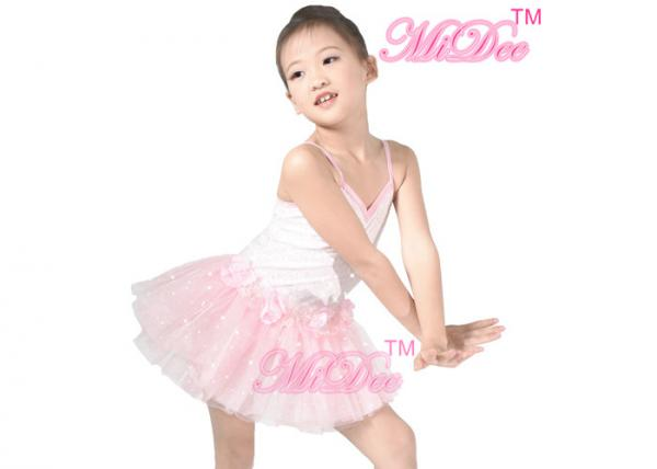 93fe16f8d MiDee Pink Ballet Tutu Dress Kids Dance Clothes Ballerina Tutu Fancy ...