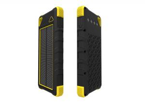 China Li-polymer 16000mAh Solar Power Battery Charger / Portable Power Bank For iphone6 on sale
