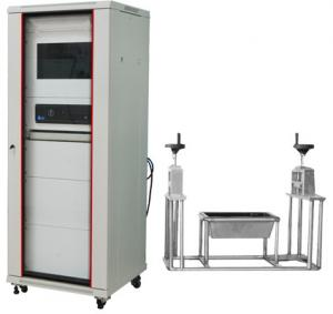 China White Wire Testing Equipment , HH52114 3M Cube Wire And Cable Smoke Density Test Apparatus on sale