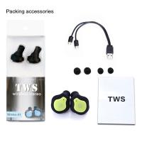 China Mini True Wireless Bluetooth Twins Stereo In-Ear Earphone TWS Wireless Earbuds on sale