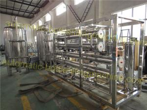 China Pure Drinking Water Purification Equipment 1600 2100KG Weight High Efficiency on sale