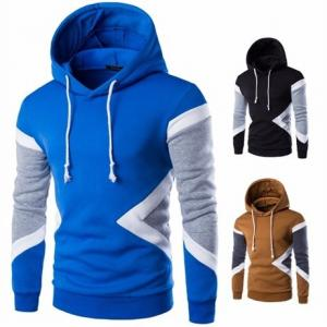 China Fashion Sportswear Comfort Colors Hoodie Hip Hop Side Zipper Men Sports on sale