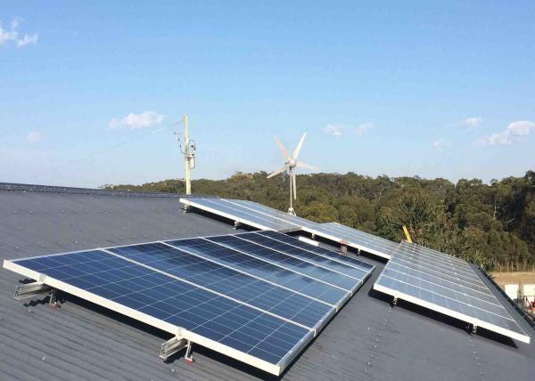 Safe Home Wind Turbine System , 5kw Wind Turbine Generator