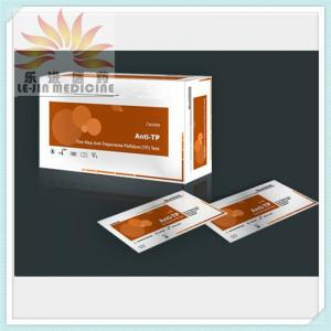 China Medical Diagnostic Test Kits Anti-Tp Rapid Test (Treponema Pallidum) Lj-Ms-14 on sale