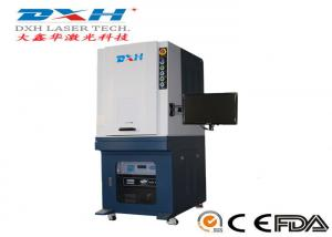 China Portable Metal Marking Machine , Compact Green Colour Laser Engraving Machine on sale