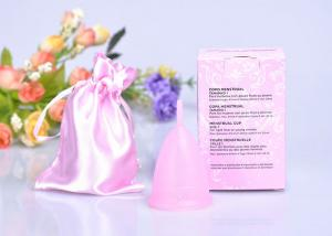 China Platinum Silicone Eco-Friendly Reusable Menstrual Cups , Instead Menstrual Cup on sale