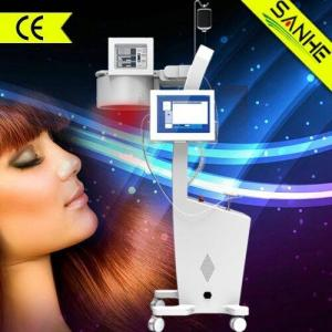 China wholesale--2015 New Laser + LED hair loss treatment hair regrowth/hair protein treatment p on sale