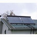 Coletor solar de tubulação de calor EN12975 com as tubulações de calor de cobre para a transferência térmica rápida