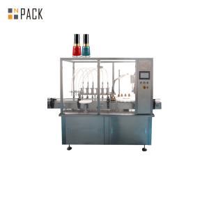 China Manufacturer Full Automatic Nail Polish Bottle Filling Machine on sale