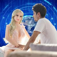 China Real Feel Like Realistic Young Silicone Sex Doll For Man AI Robot Sex on sale