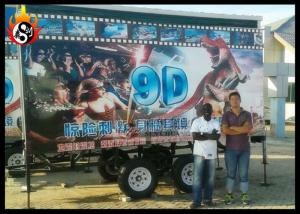China Successful Case of 5D Mobile Cinema in Africa for Outdoor Use on sale