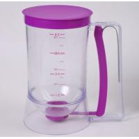Kitchen Cake Batter Dispenser With Measuring Label,Easy to use and clean