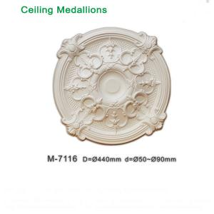 China Hot Sale Decorative PU Ceiling Medallions for modern decoration on sale
