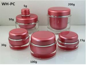Quality Acrylic Plastic Cosmetic Jar for sale