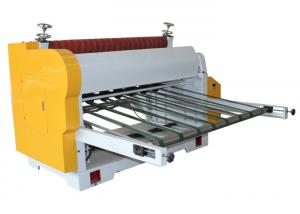 China Single Knife Corrugated Cardboard Production Line Touch Screen And Display on sale
