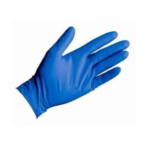 China Smooth Surfaces Heavy Duty Nitrile Disposable Gloves With FDA Certificate on sale