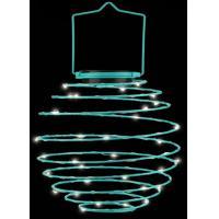 China Mini Globe Solar Lantern Lamp Decor Solar Powered Hanging Lights For Garden on sale