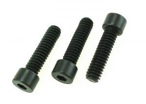 China Hexagonal Socket Head Cap Screws DIN 912 Carbon Steel Black Zinc Flat Point M2 to M36 on sale