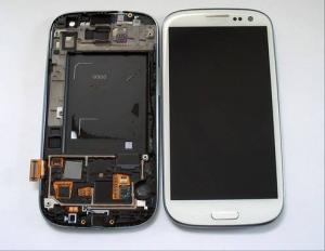 China Samsung S3 i9300 lcd Digitizer / Touch Assembly Smartphone Front Cover Replacement Parts on sale