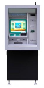 China Simp Easy Design Kiosk Atm Machine Anti - Vandal 15 Inch Touch Monitor on sale