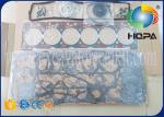 S6D102E Excavator Engine Parts Gasket Kit Overhaul Rebuild Kit For Excavator Cylinder Head